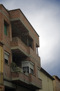 Edificio sin revestimineto