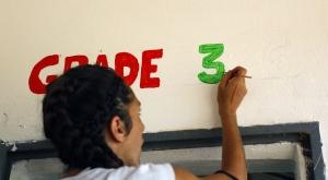 Reconstrucción escuela